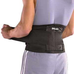 Mueller Adjustable Back Brace, One Size Fits Most