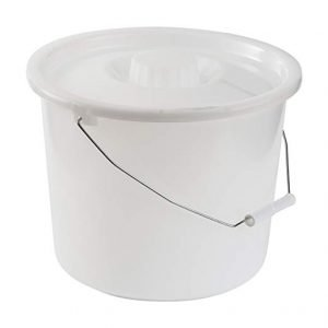 Essential Universal Pail With Lid for a Standard Commode