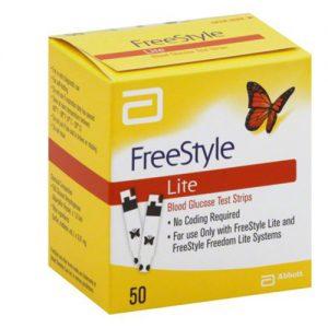 FreeStyle Lite Test Strips - 50 ct