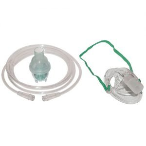 Sunset Disposable Nebulizer Kit with Mask , Pediatric