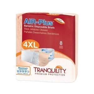 Tranquility Air Plus Bariatric Brief (Pack of 8)