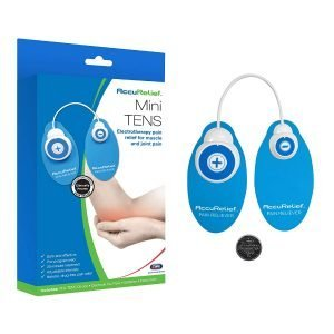 Carex AccuRelief Mini TENS Electrotherapy Pain Relief System