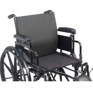 Drive Medical Lumbar Support General Use Wheelchair Back Cushion