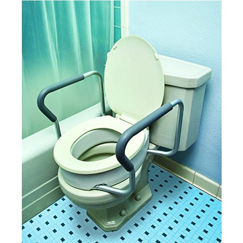Miraculous Essential Toilet Seat Risers With Removable Arms Caraccident5 Cool Chair Designs And Ideas Caraccident5Info