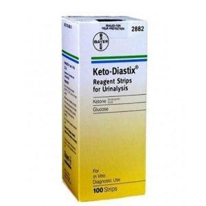 Bayer Keto-Diastix Reagent Strips 100 ct