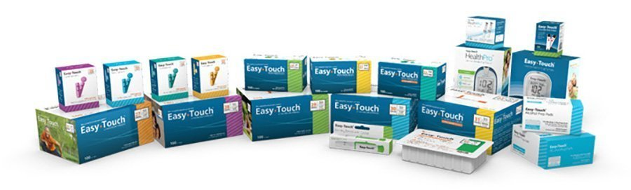 MHC Medical Easytouch diabetic supplies Products