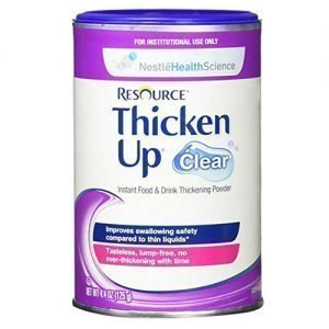 Nestle Resource ThickenUp Clear 4.4 oz Canister
