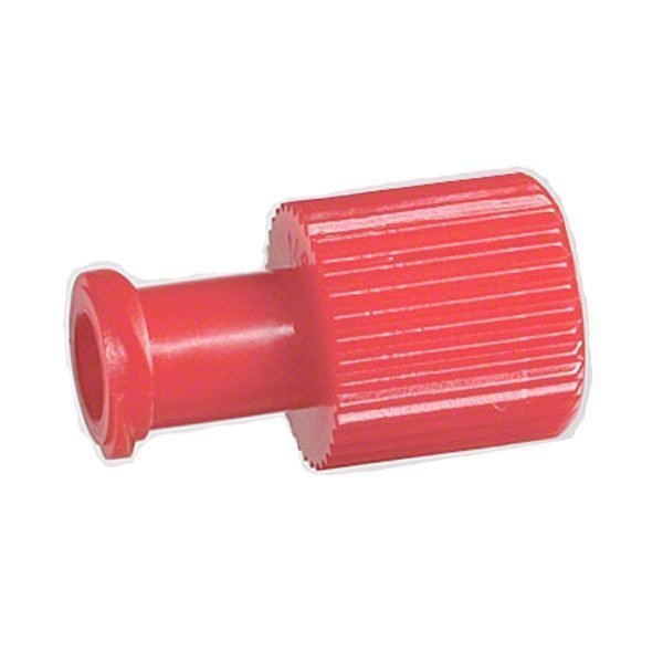 B  Braun Red Cap Luer Replacement Cap With Male and Female (Pack of 1000)