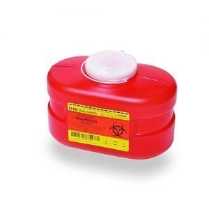 BD Sharps Container 3.3 Quart Red