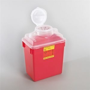 BD Sharps Container 6 Gallon Red