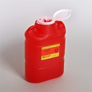 BD Sharps Container 8.2 Quart Red