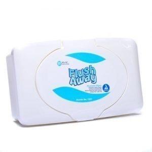 Dynarex Flush Away Flushable Wipes (Pack of 60)