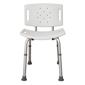Essential Adjustable Shower Bench With And Without Back