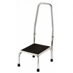 Essential Chrome Plated Safety Foot Stool
