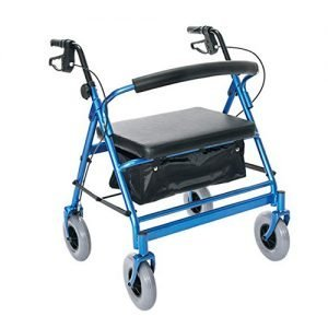 Essential Endurance HD Heavy Duty Four Wheel Walker