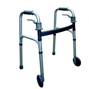 Essential Endurance Junior Trigger Release Walker with 5 Inch Fixed Wheels
