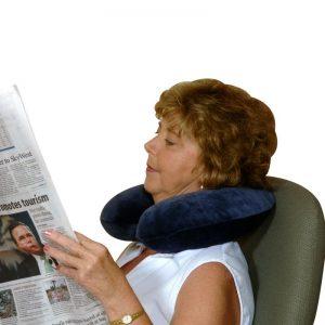 Essential Memory Foam Round Travel Pillow