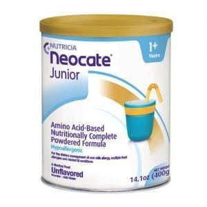 Neocate Junior Unflavored 14.1 oz Can (Pack of 4)