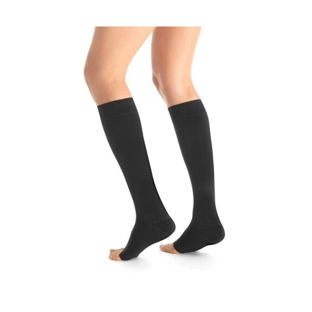 Maternity 15 20 Mmhg Open Toe Knee High Moderate Compression Socks
